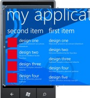 Different Layouts of page in Windows Phone 7