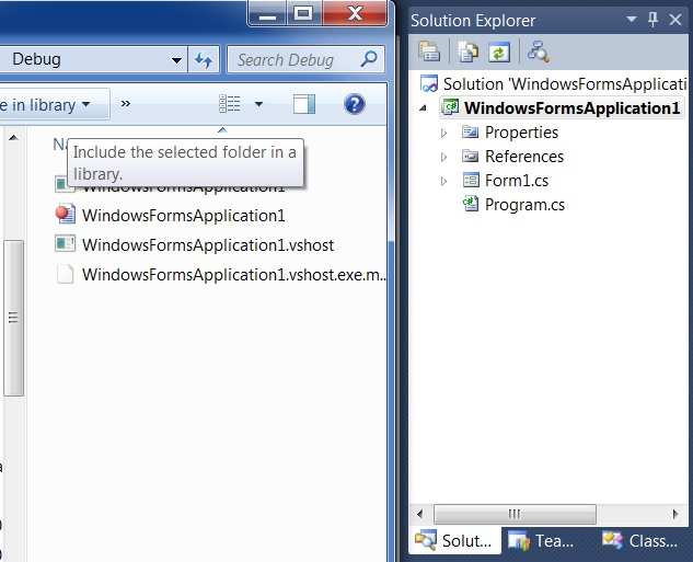 How to change the exe name of the Windows Application in Visual Studio 2010 ?