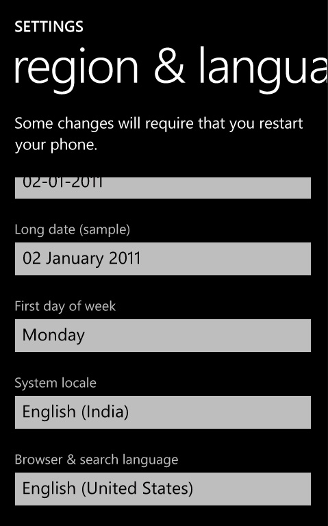 Retreive the country name in Windows Phone 7