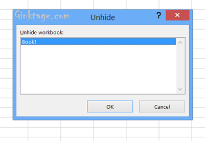 How to Hide the Complete Excel 2013 Workbook?
