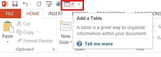 How to Add a Command to Quick Access Toolbar in PowerPoint 2013?