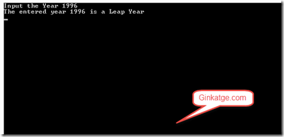 C# Program to find if the Year is a Leap Year or Not